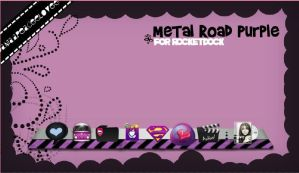 Skin Metal Road Purple by DaniaPeaceeLovee