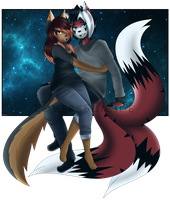 Love as big as space by LoversSuicide