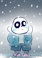 Everybody Loves Sans by Cookie-and-her-foxes