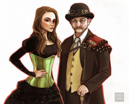 Steampunk Commission by Virnavus