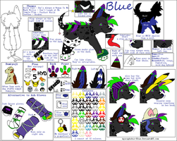 Newest Bluest Ref Ever by Miiroku