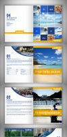Travel Company Brochure by SBendiX