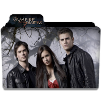 The Vampire Diaries - Folder by FalcoN-chan93