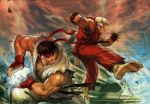 Ryu vs Ken by EastMonkey