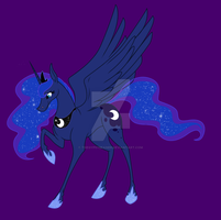 Princess Luna by thegypsybeaner