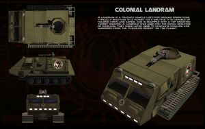 Colonial Landram ortho by unusualsuspex
