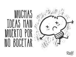 Respeta tus ideas by ross-marisin