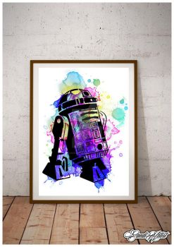 Limited Edition R2D2 by GandiArtist