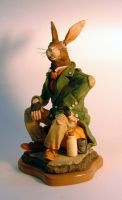 Hobo Hare by thebiscuitboy