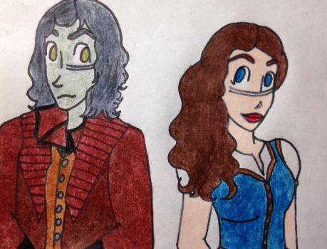 Rumbelle: The Beauty and the Imp by aheartlikethesea
