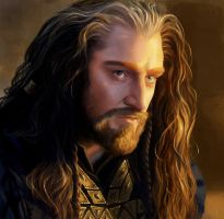 Thorin Oakenshield by Ckrall
