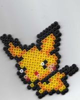 Pichu Beadsprite by underneath-infinity