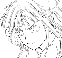 [episode 6] Ange -lineart- by Amour-et-Mort