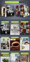 Print Ad Templates 12 Pack by CursiveQ-Designs