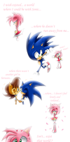 A preview comic? Sonamy and Sonally by SweetSilvy
