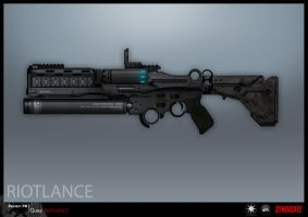 SYNDICATE concept - RIOTLANCE final version by torvenius