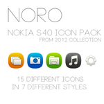 Noro S40 Icon Pack by cyogesh56