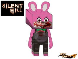 Robbie the Rabbit 3D [SILENT HILL] by JetPaper