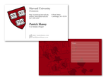 Harvard Business Card Mockup by splat