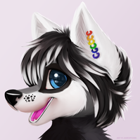 Okamikami (Headshot) by jamesfoxbr