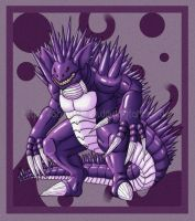 Nidoking - Colored by Essence-Of-Rapture