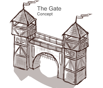 The Gate Concept by Sun-Dragoness
