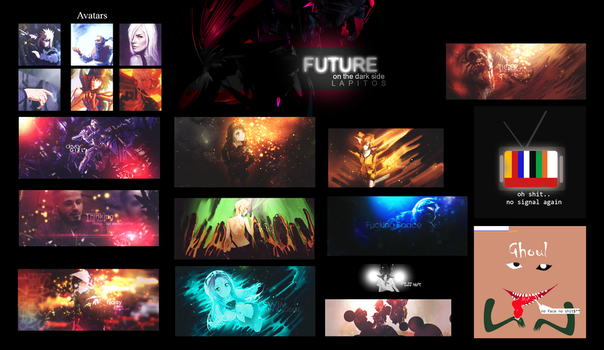 future  - tag wall by LAPITOS