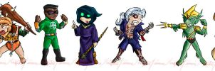 Dai-ified EC1 Chibi ATTACK by eternalchampions