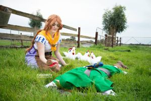 Malon to the rescue! by GunnerYunie