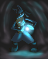 Lucario - Hadoudan by TheIncarnationPokemo