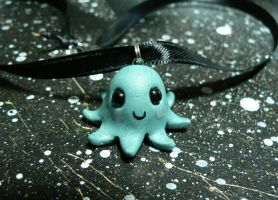 Little Blushing Octopus by BlackMagdalena