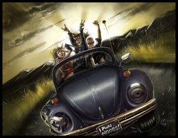 Ride on VDub by Jonzy