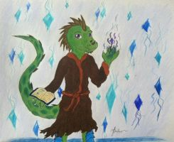 Lizard Wizard by yd6104
