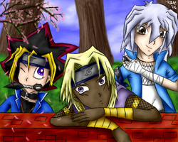 Yugioh Ninjas of the Leaf by pdutogepi