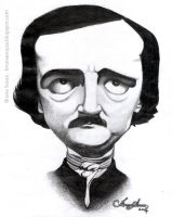 Edgar Allan Poe by brunasousa