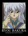 Ryou Bakura Motivational by GrayIceFullBuster