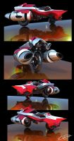 Hyperion - Concept Vehicle by kimag3500