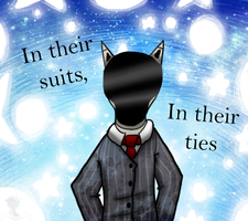 :VC: In Their Suits and Ties by GlassFeline