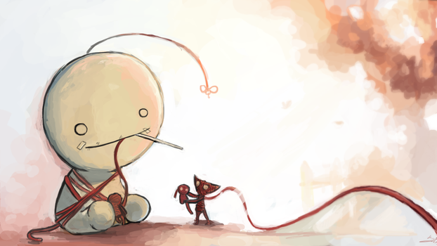 Cry plays: Unravel by tunaniverse