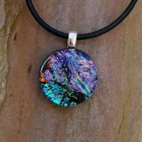 Tiny Collage Fused Glass by FusedElegance