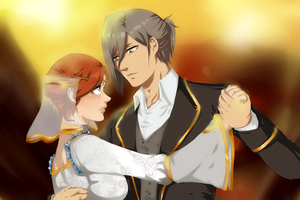 SnK:: The greatings ball by Serahime-Hana