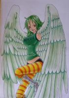 harpy Monet(colored) by martylovespinkfloyd
