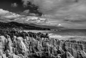 New Zealand - Pancake rocks by olideb08