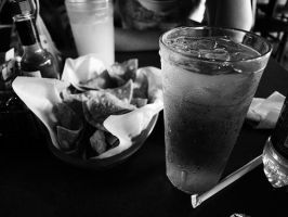 Chips and Water by Shmama-Bean