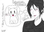 Sebastian Michaelis ~ Having a Purrfect Dream by LenFan20