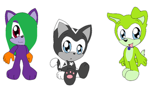 Sonic Point Adopts by IceHeartTheWarrior