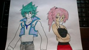 Johan Jesse Anderson and Daisuke Dayna Muto by MIRACLESVEEMON