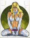 Women Of Marvel AP Emma Frost by gattadonna