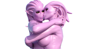 Daemonettes Kissing by Disembowell
