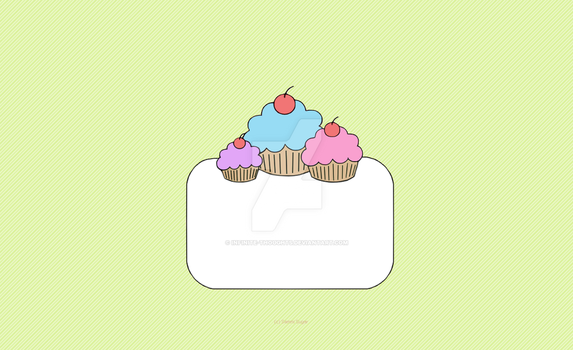 GaiaOnline (Premade) Layout - Cupcake Cluster by Infinite-Thoughts